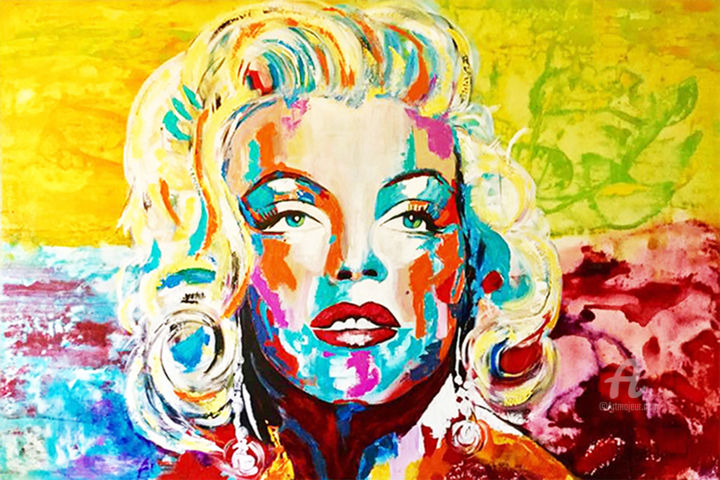 Marilyn MONROE «Luminous» (KATHLEEN ARTIST)