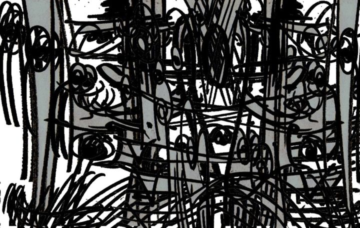 ecriture rythmique - Drawing, ©2012 by Keip -