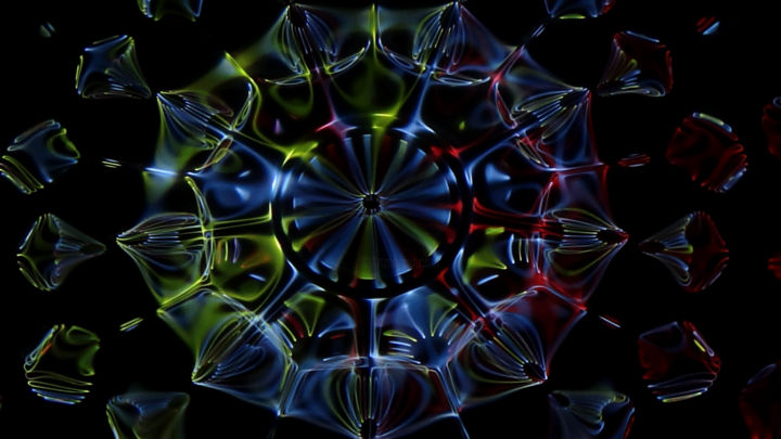 """Photography titled """"Radial Tricolor"""" by Gabriel Kelemen, Original Art, Other"""