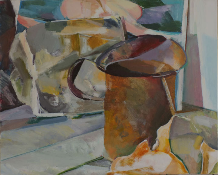 """Painting titled """"Still Life 19"""" by Ken Dawson, Original Art, Oil Mounted on Stretcher frame"""