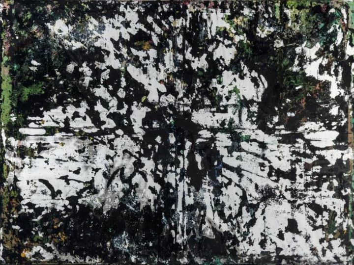 Forest VII - Painting,  59.1x78.7x1.2 in, ©2014 by Kian Ziari -
