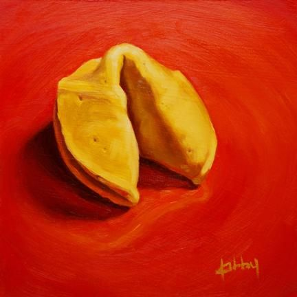 """Painting titled """"Good Fortune."""" by Kim Kibby, Original Art,"""