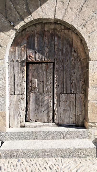 ancienne porte - Photography, ©2020 by Christine Pons -