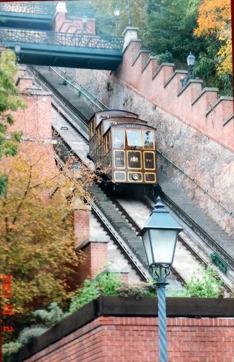 Funiculaire à Budapest - Photography, ©2017 by Christine Pons -