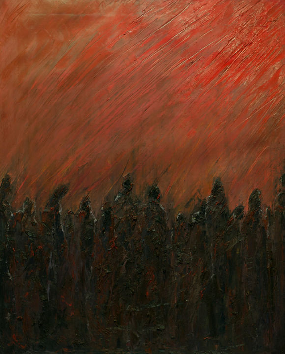 """Painting titled """"The Divine Comedy:…"""" by Mihail Ivanov, Original Art,"""