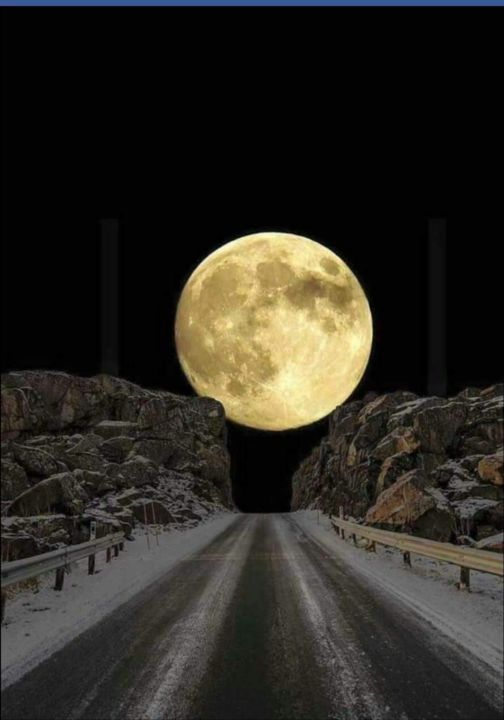 """Photography titled """"Moonview"""" by Krishna Art Gallery, Original Art, Analog photography"""