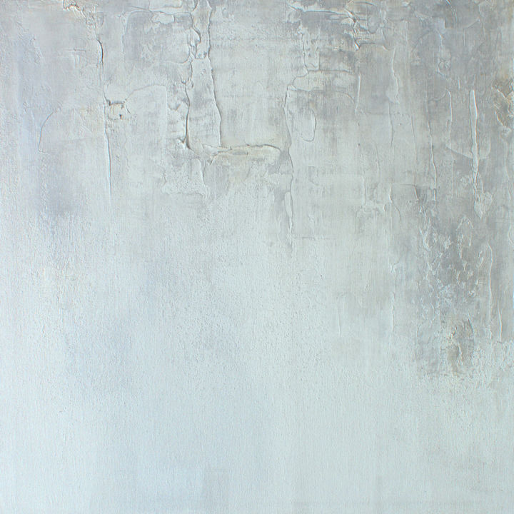 """Painting titled """"Silver to the Touch"""" by Kr Moehr, Original Art, Acrylic"""