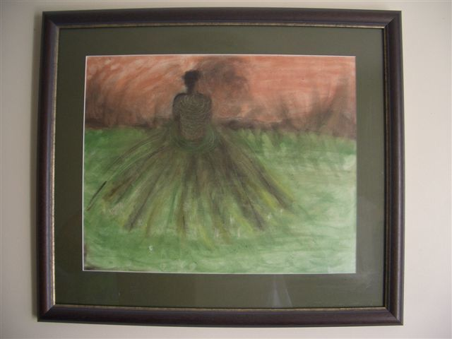"""Painting titled """"New beginnings"""" by Lady Carolyne, Original Art, Oil"""