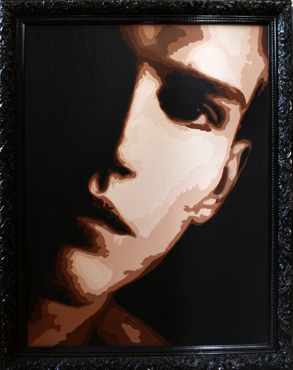 Dorian - Painting,  40x30 cm ©2007 by Lady Caviar -