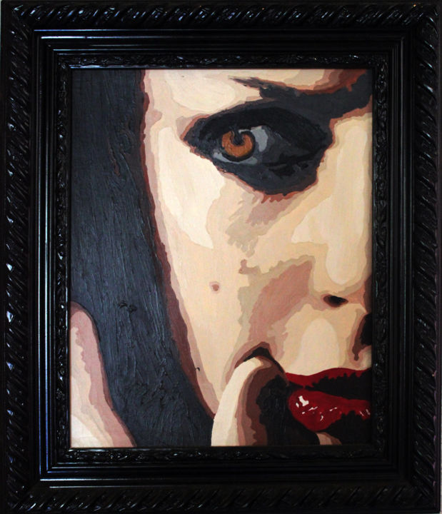kiara.jpg - Painting ©2009 by Lady Caviar -