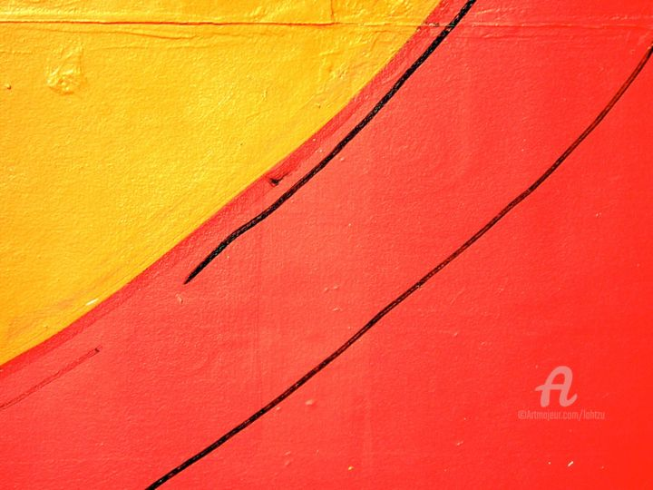 22 - Photography,  0.4 in, ©2005 by Hal Studholme -                                                                                                                                                                                                                                                                                                                                                                                                                                                                                                                                                                                                                                                                                  Abstract, abstract-570, artwork_cat.Colors, orange, yellow, red, lahtzu, halmarked, Studholme, halstudholme, street, colors, colours, apart