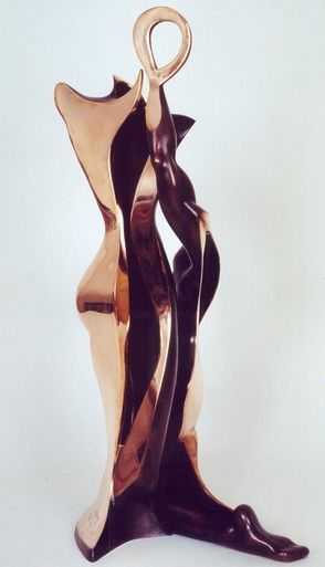 La Vénus à Milo - Sculpture,  31.5 in, ©2001 by Jean-Louis Landraud -
