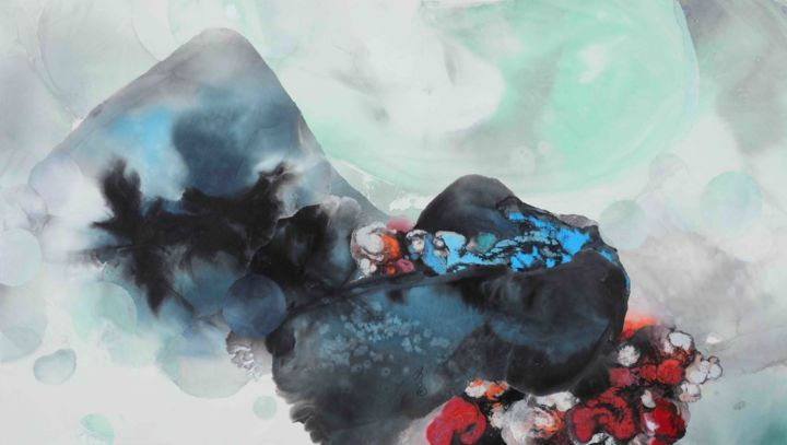 """Painting titled """"""""The Ink Soul"""" 墨魂 #…"""" by Lanying Yu, Original Art, Ink"""