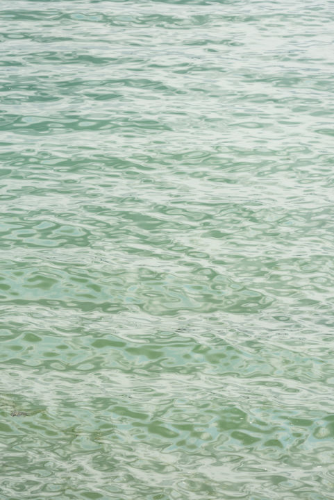 raies marines - Photography,  23.6x15.8x0.4 in, ©2019 by ELISABETH LAPLANTE -                                                                                                                                                                                                                                                                                                                                                                                                                                                                                                                                                                                                                                                                                                                                                                                                                                                                                                                                                                                                                                                                                                                                                                                      Abstract, abstract-570, Abstract Art, Colors, Water, Light, Beach, abstract art, laplante elisabeth, elisabeth laplante, nikon, sea, seaside, vibes, waves, vagues, vert, bleu, rythm, rythme, brittany, mer, move, moving, poetry