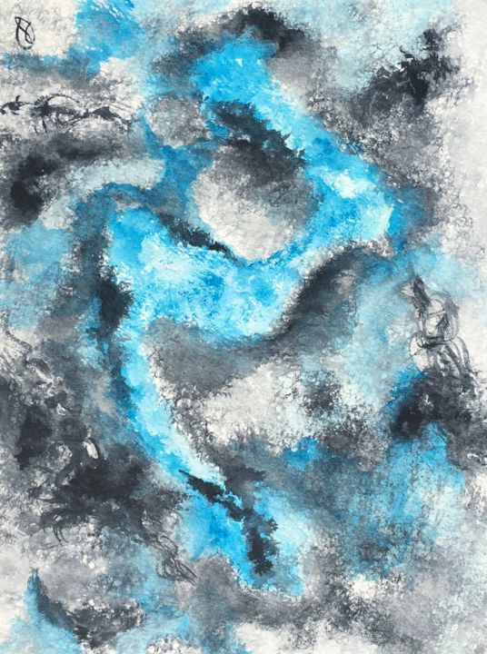 aqua-2018-02-11.jpg - Painting ©2018 by Marc LASSERRE -