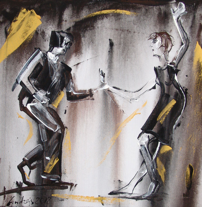 Can erotic dance painting seems