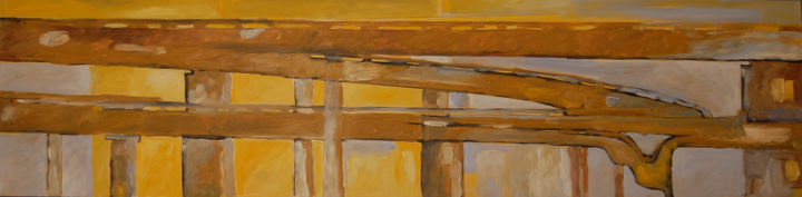 """Painting titled """"Tangenziale 0010"""" by Laura Federici, Original Art, Oil"""