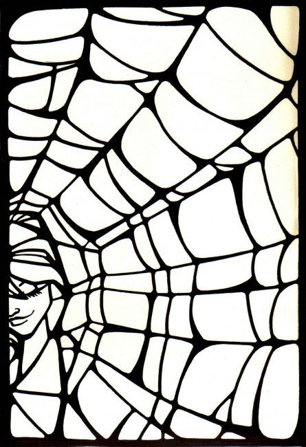 """Collages titled """"web.jpg"""" by Laura Lee Gulledge, Original Art,"""
