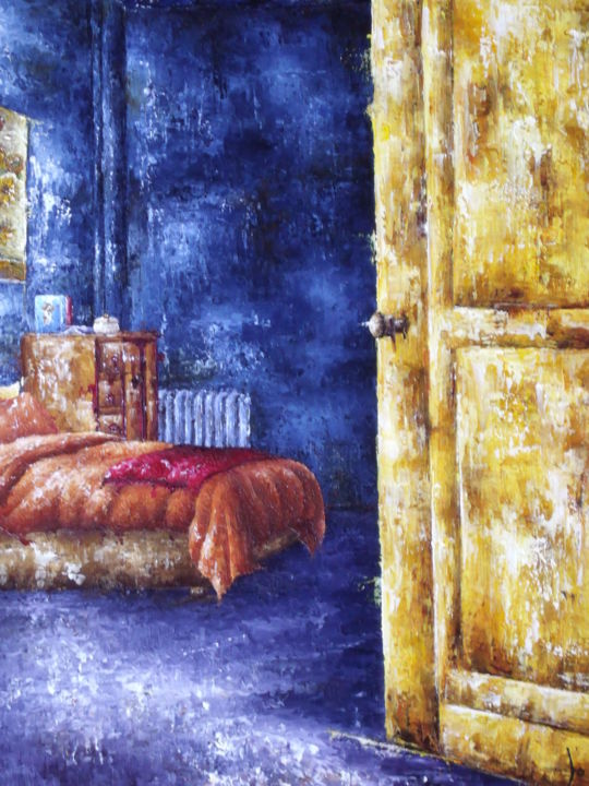 hommage-a-van-gogh-15f.jpg - Painting, ©2016 by Laurence Dubois -