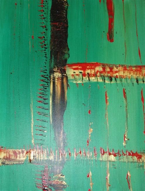 """Painting titled """"Westwood  2"""" by Lauren Frontino, Original Art,"""