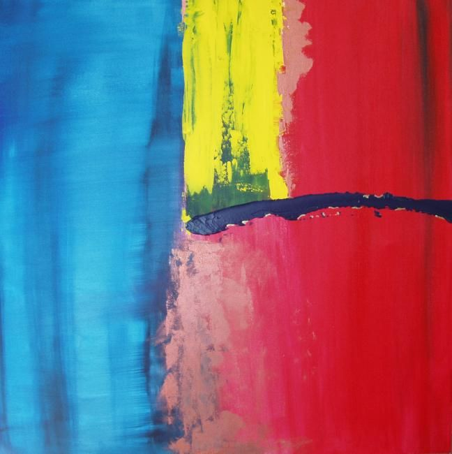 """Painting titled """"Elemental 3"""" by Lauren Frontino, Original Art,"""