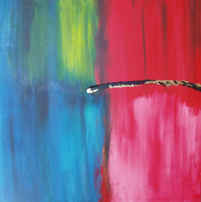 """Painting titled """"Elemental 4"""" by Lauren Frontino, Original Art,"""