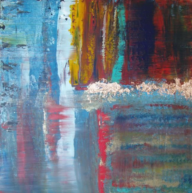 """Painting titled """"Elemental 6"""" by Lauren Frontino, Original Art,"""