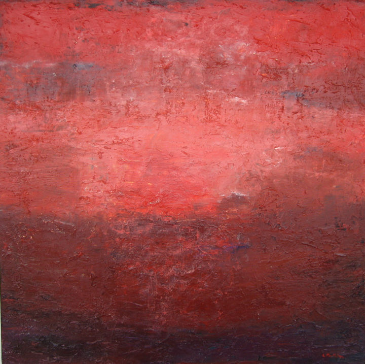 """Painting titled """"Departure Time"""" by Laurie Macmillan, Original Art, Acrylic Mounted on Stretcher frame"""