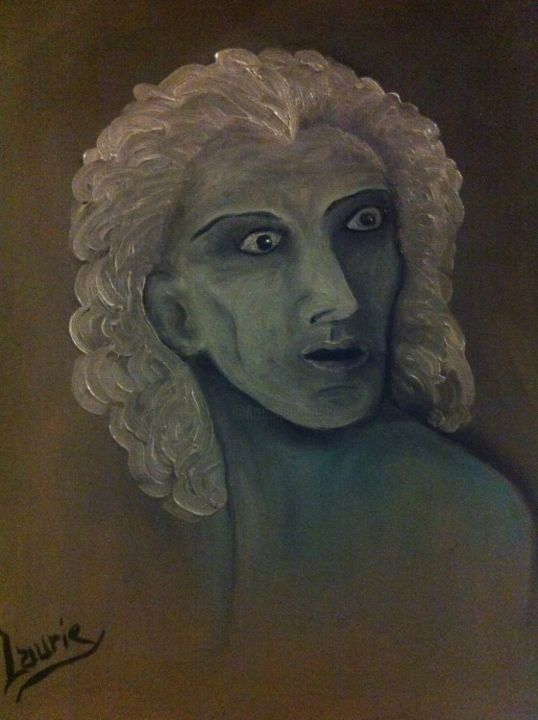 Petrus - Painting,  50x40 cm ©2013 by Laurie -