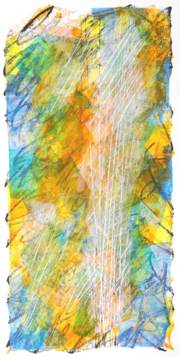 le-reel-02.jpg - Mixed Media,  40x20 cm ©2017 by Thierry Laverge -