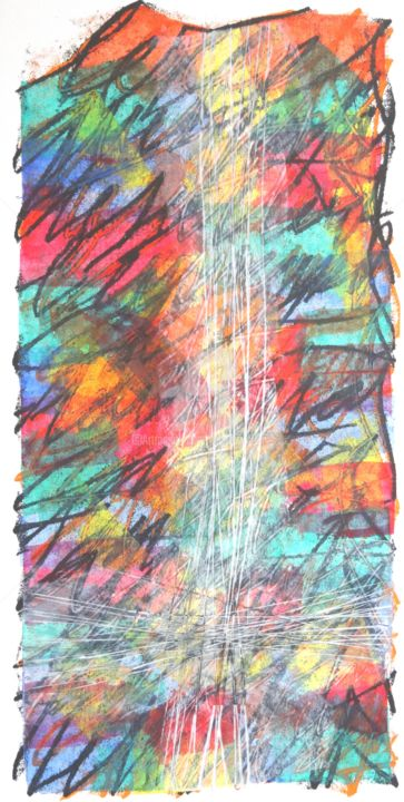 le-reel-03.jpg - Mixed Media,  40x20 cm ©2017 by Thierry Laverge -