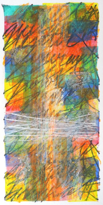 le-reel-05.jpg - Mixed Media,  40x20 cm ©2017 by Thierry Laverge -