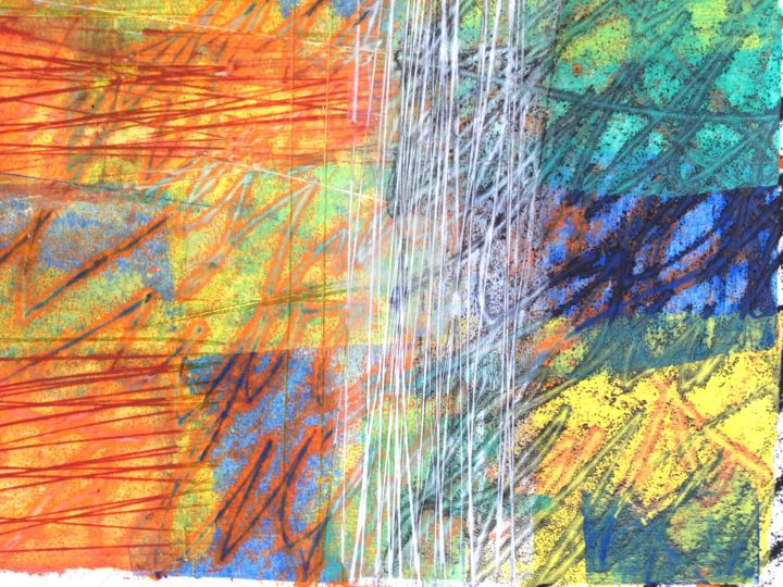 le-reel-07-detail-bis.jpg - Mixed Media,  40x30 cm ©2018 by Thierry Laverge -