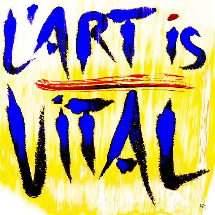 L 39 art is vital lawrence for Art conceptuel oeuvre