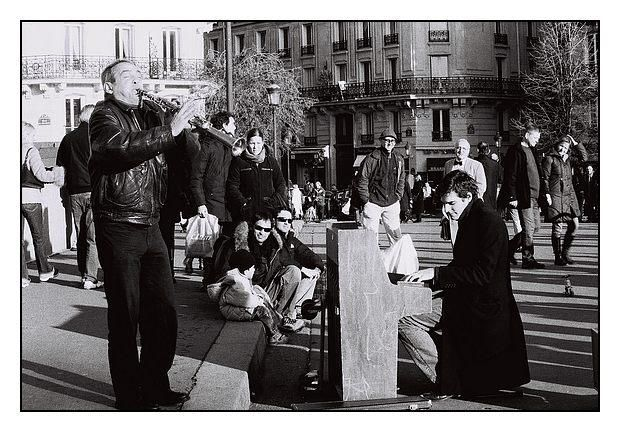 Musiciens - Photography, ©2006 by Léa SG -