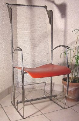 """Design titled """"chaise tension, ora…"""" by François Lebot, Original Art, Objects"""