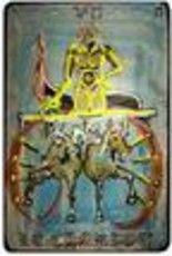 """Painting titled """"le chariot"""" by Lem, Original Art,"""