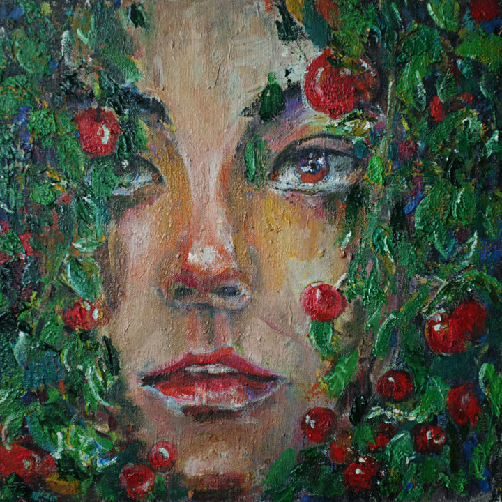 """Painting titled """"In the blooms 06"""" by Hai Nguyen, Original Art, Oil"""