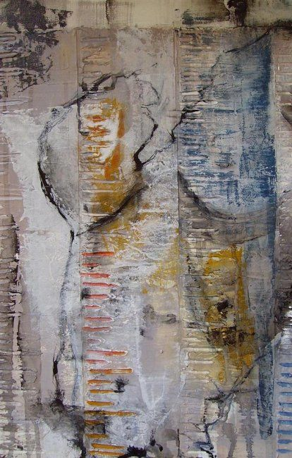 """""""Time"""" - Painting ©2009 by Kim.B -"""