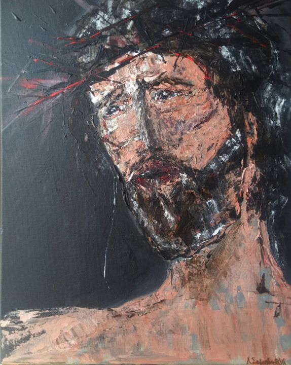 Abstract Jesus Christ Artwork