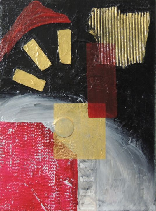 """Painting titled """"Automation 1"""" by Linda Devine, Original Art, Acrylic"""