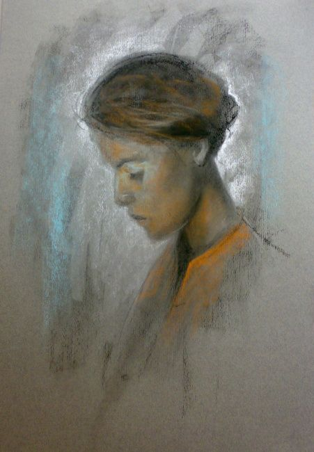 Donna - Painting ©2008 by L.Jakobsson -