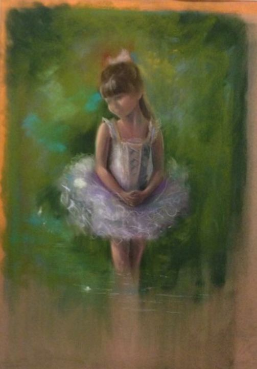 Little Prima - Painting ©2015 by L.Jakobsson -