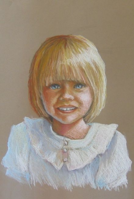 """Painting titled """"sophie"""" by Lisa English, Original Art,"""