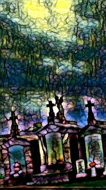 """Photography titled """"St James Cemetery i…"""" by Lisa Kendall Mitchell, Original Art, Digital Photography"""