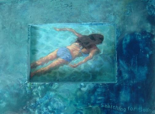 """Painting titled """"searching sedna"""" by Lisa Reindorf, Original Art,"""