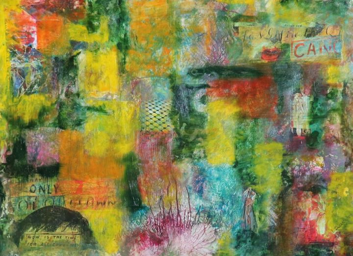 """Painting titled """"""""Now is the time"""" (…"""" by Liudmyla Durante Art & Jewelry, Original Art, Paper"""