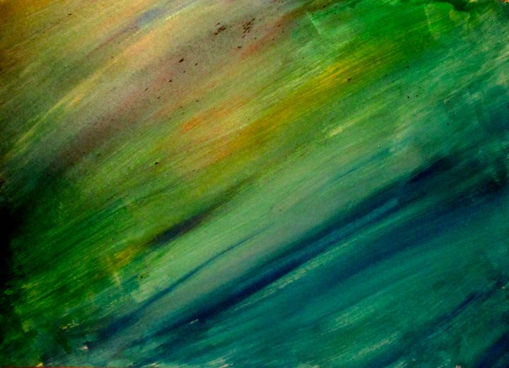 Cosmic Underworld, abstract painting - ©   Online Artworks