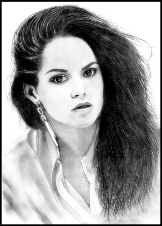 sarah greene Drawing by Loic-Drawing | Artmajeur