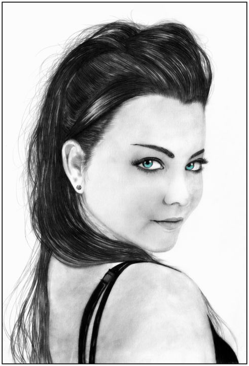 amy lee Drawing by Loic-Drawing | Artmajeur